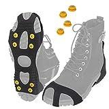 ALPIDEX Anti Rutsch Schuhspikes Ice Grips Schuhkrallen Schnee Spikes Größe 35-47, Größe:XL