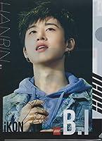韓国 K-POP ☆iKON アイコン B.I ビーアイ☆ クリアファイル A4サイズ クリアホルダー P-283