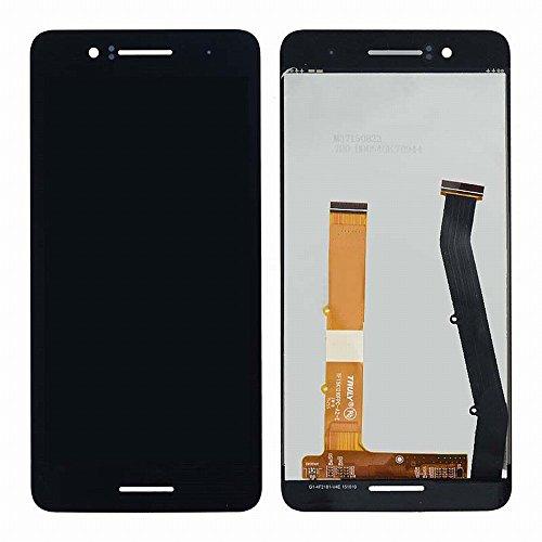 HTC Desire 728 D728t D728w D728 LCD Display Touchscreen Digitizer Glas Assembly Ersatzteile + Klebeband & Werkzeuge (schwarz)