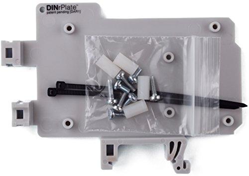 DINrPlate DIN-Schienenhalterung für Arduino UNO/Mega