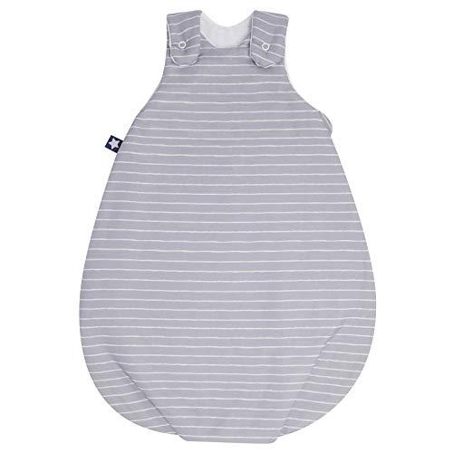 Julius Zöllner Jersey Babyschlafsack Koon Gr. 62/68 Grey Stripes