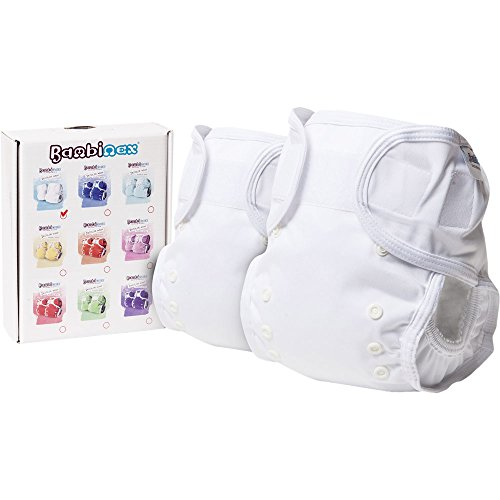 Bambinex ** 2 x Mutandina OneSize Wrap ** Per pannolini di stoffa - Taglia Unica 3-15kg