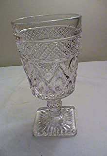 Vintage Imperial Glass Cape Cod-Clear 6 1/4