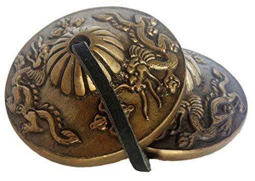 Címbalos de meditación Bell figura de estilo (timbre inal