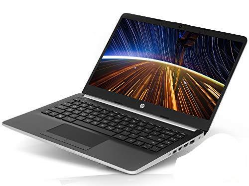 HP 14 (14-dk0002dx) Laptop, 14' HD Display, AMD A9-9425 Upto 3.7GHz, 4GB RAM, 128GB NVMe SSD, HDMI, Card Reader, Wi-Fi, Bluetooth, Windows 10 Home S