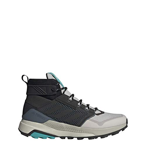 adidas outdoor Terrex Trailmaker Mid Hiking Boot - Men's Grey Two/Black/Hi-Res Aqua, 11.0