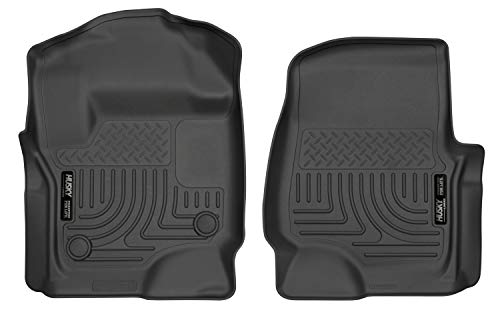 Husky Liners Fits 2017-19 Ford F-250/F-350 Crew Cab/SuperCab with factory carpet...