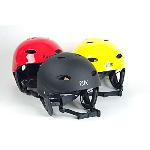 RUK Sport RAPID Kayak/Canoeing Watersports Helmet - Various Colours Black - MED - 53-59cm