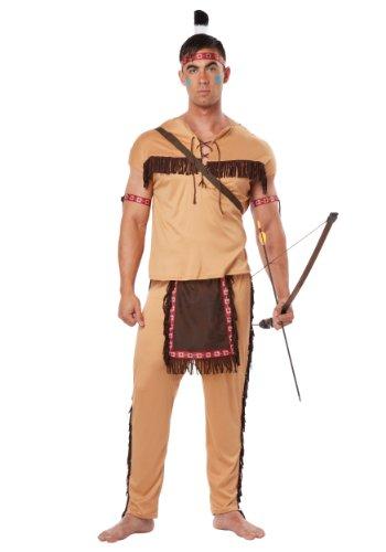 California Costumes Costume indien Brave 1314 pour adulte Marron clair/marron Taille XL