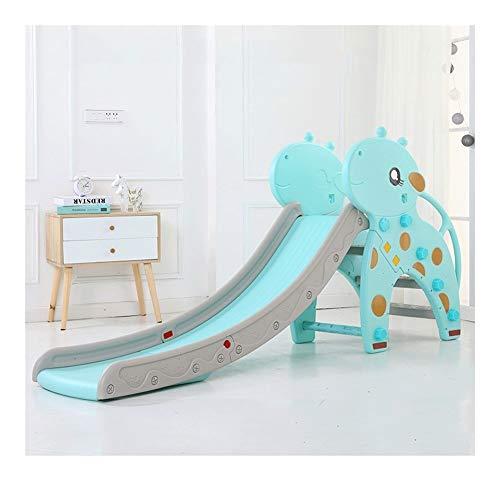 XWX Inicio Slide Cubierta Kinder Combinación Engrosamiento Larga Hijos De Multifuncionales Pequeño Plegable Juguetes Nuevos Ejercicios (Color : B)