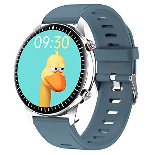 ZRY I15 Smart Watch 1GB Memory Memory Sports Bluetooth Call Sports Soporte de Pulsera MP3 Music Player Conexión TWS Auriculares Altavoz para Android iOS,D