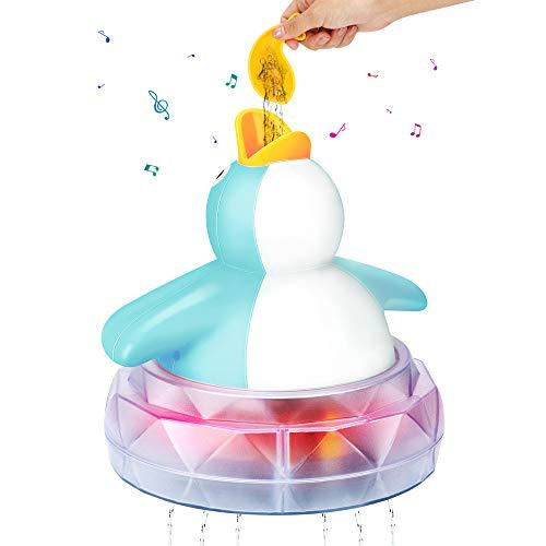 Juguetes de baño, juguete para piscina de bañera CestMall, juguete de pingüino...