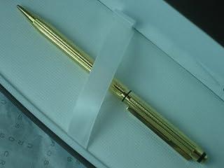 سلسلة التوقيع الكلاسيكية المصنوعة في الولايات المتحدة الأمريكية وقلم رصاص ذهبي عيار 22 قيراط.