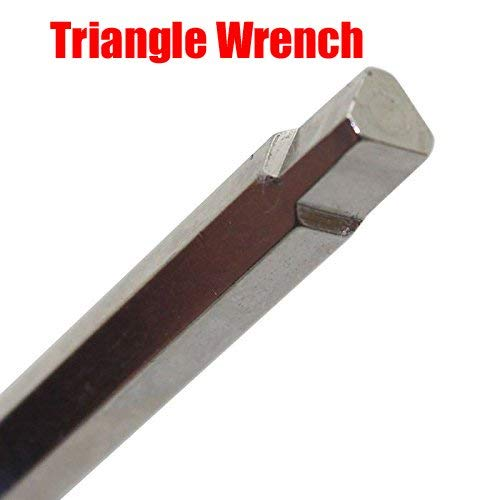 GOOACTION Golf Triangle Wrench Tool Torque Wrenches for Adams Drivers Fairway Weights Blue