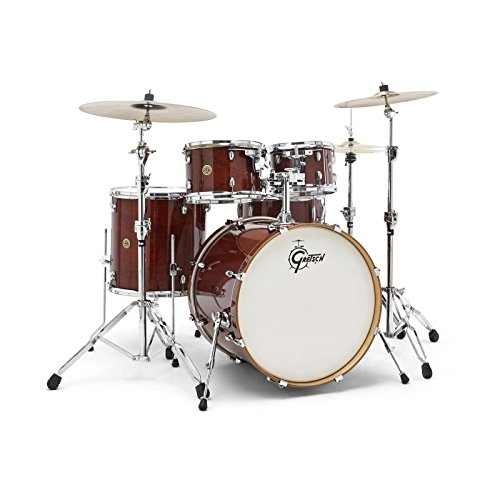 Gretsch Drums Drum Set, Walnut Glaze (CM1-E825-WG)