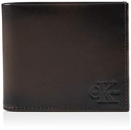 Calvin Klein ck jeans Billfold, Carteras Hombre, Marrón Amargo, OS