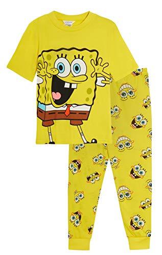 SpongeBob Squarepants Schlafanzug für Kinder, kuschelig, für Jungen und Mädchen,...
