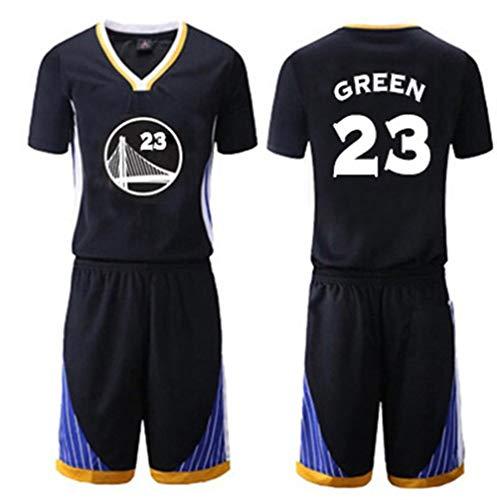 ZSPSHOP NBA - Traje de baloncesto para hombre, color negro, talla 30, talla 3XL, color verde