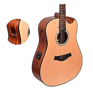 Kadence Slowhand Series Premium Demi Cut Semi Acoustic Guitar 8