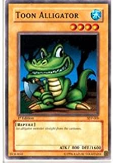 Yu-Gi-Oh! - Toon Alligator (SDP-009) - Starter Deck Pegasus - Unlimited Edition - Common