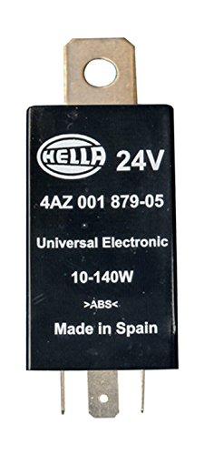 HELLA 4AZ 001 879-051 Blinkgeber - 24V - 3-polig - Anbau - mit Halter