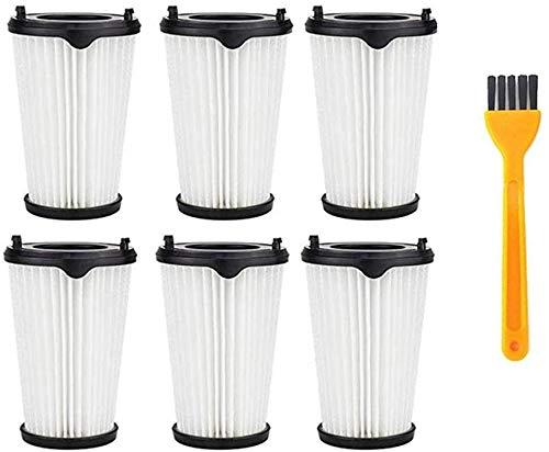 Filtro para Aspiradoras Queta Filtro para Aspiradoras AEG Ergorapido, Accesorios Extraíbles y Lavables, para Todas las Aspiradoras AEG CX7-2 Ergorapido con 1 Cepillo Pequeño, 6pcs