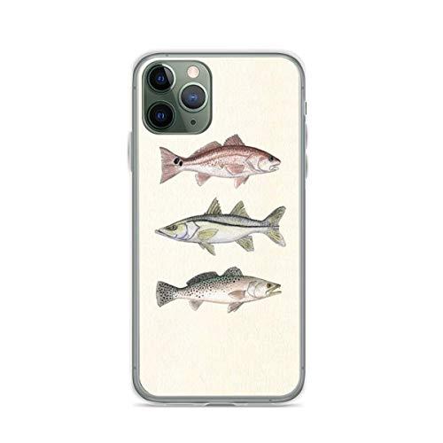 Amber Marine - Carcasa para iPhone 6 y 6S, diseño de peces rojos