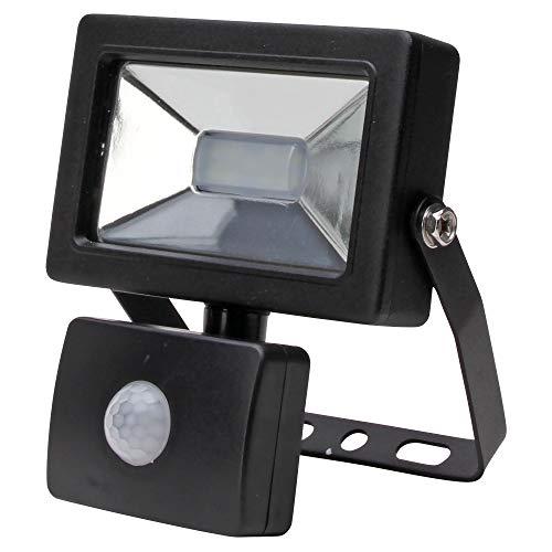 Kopp LED wandschijnwerper met bewegingsmelder, antraciet LED Wandfluter 10 Watt antraciet
