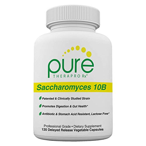 "Saccharomyces Boulardii (10 Billion CFU Per Serving) - 120 ""Acid Resistant"" VCaps 