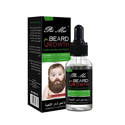Beard Oil, Aceite Para Barba, Cuidado de Barba, Beard Growth Oil, Aceite para el Crecimiento de la Barba y del Cabello, Aceite para Barba Cuidado para hombres