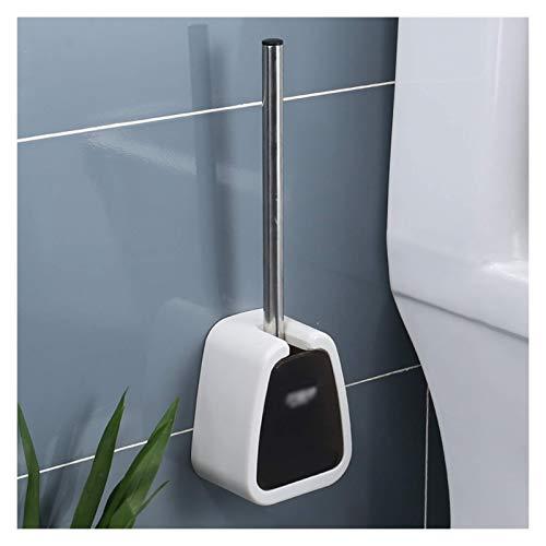 TYXL Toilet Bowl Scopino Set Detersivi e oggetti per pulizia a parete Wc spazzola della ciotola con apertura automatica e interruttore di chiusura聽(聽Punch-gratuito聽)聽Toilet Bowl Spa