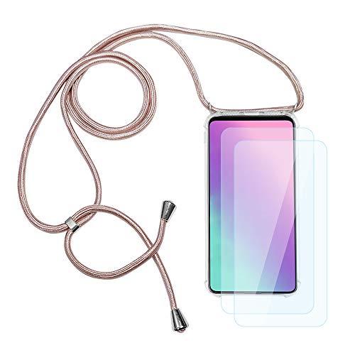 IEMY Funda con Cuerda para Xiaomi Redmi Note 10 Pro/Redmi Note 10...