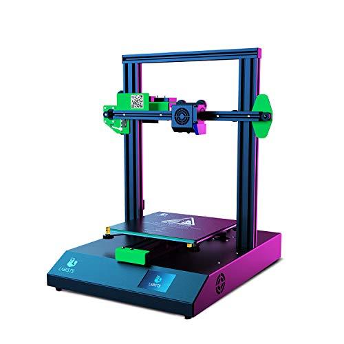 LABISTS 3D Drucker, 3D Drucker mit 2,8 Zoll Smart Touchscreen Große Druckbereich von 220 x 220x 250 mm, 3D Printer für 1,75 mm PLA Filament