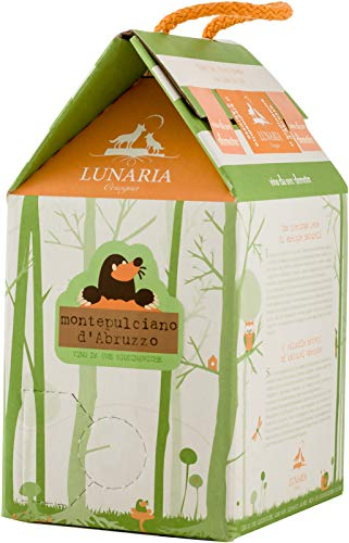 Vino Montepulciano d'Abruzzo DOC Lunaria Bag in Box - 3 L