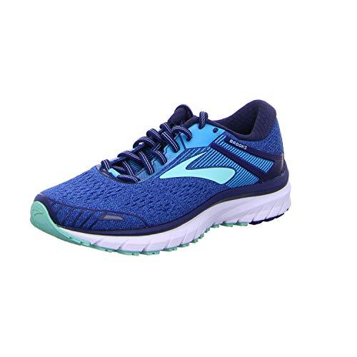 Brooks Adrenaline GTS 18, Womens Running Running Shoes, Turquoise (Blue/Mint/Pink 1B408), 4.5 UK (37.5 EU)