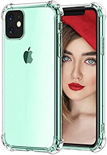 Clear iPhone 11 Case Anti-Scratch(6.1 inch) Bumper TPU Crystal Transparent Shock Proof with Silicon reinforced edges Prote...