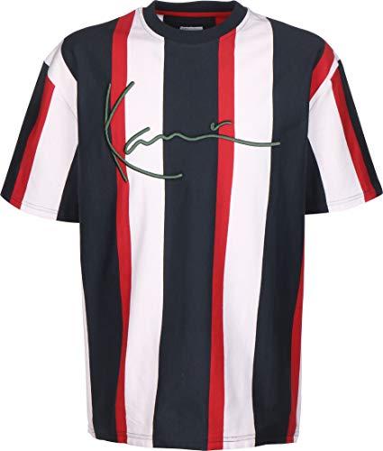 KARL KANI camiseta hombre KKMQ12020 KK SIGNATURE STRIPE TEE L