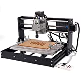 Upgraded CNC 3018 Pro Wood Router GRBL Control Engraving Machine, 3 Axis PCB Milling Carving Machine, CNC Router Kit with Offline Controller and ER11 and 5mm Extension Rod