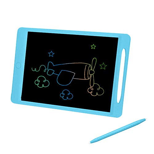 LCD Writing Table, Decdeal LCD Writing Board 11.5 Inch Rechargeable Erasable Pressure-Sensitive Drawing for Kids & Adults Eye-Protective Handwriting Doodle Pad eWriter Toy Gift for School Office