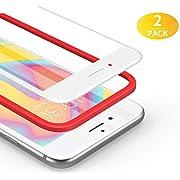 BANNIO Verre Trempé pour iPhone 7 /iPhone 8, [3 Pièces] Film Protection écran en iPhone 7 / iPhone 8, HD Transparent, Dureté 9H, Anti Rayures, 3D Touch, avec Kit d'Installation