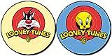 MasTazas Silvestre Sylvester Piolin Tweety Looney Tunes Posavasos x4 Coasters