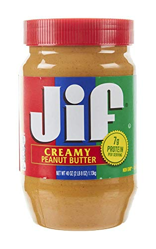 Jif Peanut Butter Creamy 16 oz Pack of 2