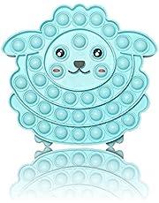 PIANETA Pop it Push it Fidget Toy, pop Bubble, endekprężna antystresowa zabawka sensoryczna łagodzi stany lękowe. Dla dzieci i dorosłych