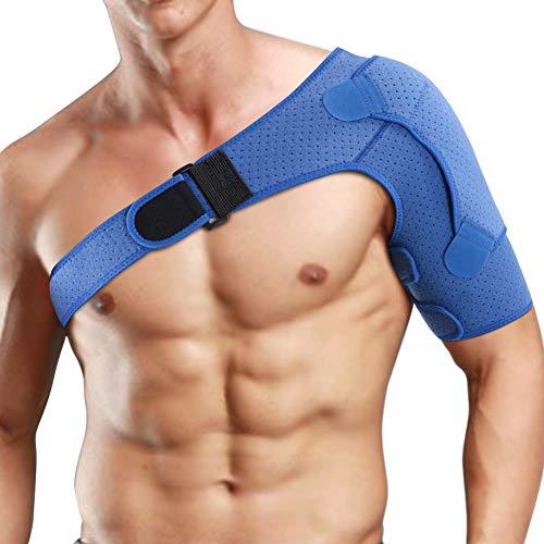 Schulterbandage Verstellbare Schulter Unterstützung Bandage Kompressionsbandage Schulter Bandage Arthritische Schultern Schulter Unterstützung Bandage Schulterriemen aus Neopren Rechts Links Unisex