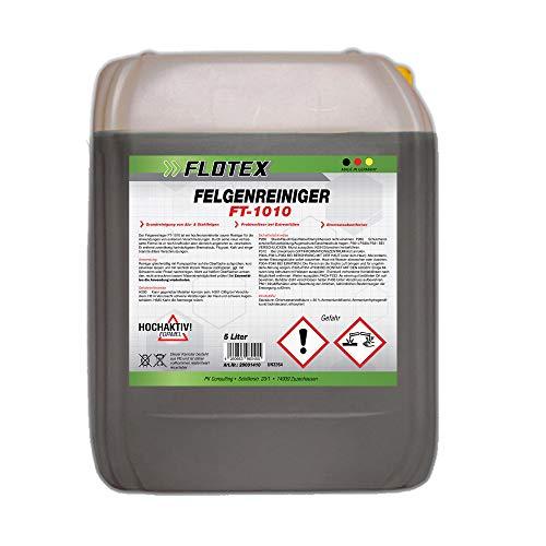 Flotex Felgenreiniger Konzentrat, 5L Auto Felgen Reiniger Pflege