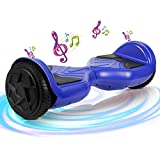 SISGAD Hoverboard, 6.5' Two Wheel Self Balancing Electric Scooter, with Safety Certified, Great Gift for Boys and Girls