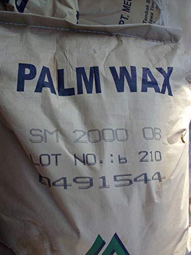 5 kg Kerzenwachs Stearin Palmwachs als feines Granulat Schneeweiß alternative zu Paraffin auch zum Kompositionswachs herstellen, Zusatztofffrei - kein Kristallstearin