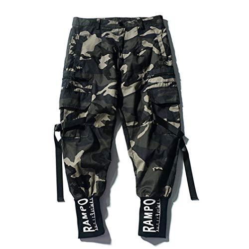 Herren Freizeithosen Camouflage Cargo Retro Jugend Student Waschbar Langlebig & Anti-Falten Alltäglich Urban Streetwear Pants