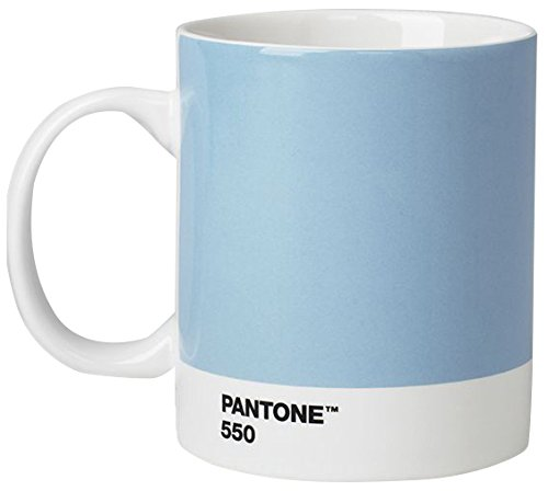 Pantone Kaffeetasse, Porzellan, Light Blue 550, 8.4 x 8.4 x 12.1 cm