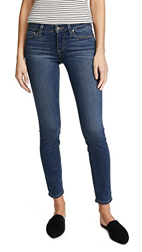 PAIGE Denim Women's Transcend Verdugo Ultra Skinny Ankle Jeans, Tristan, Blue, 29